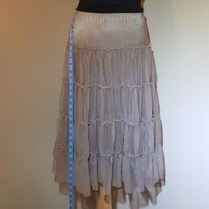 Nicole Miller tiered skirt